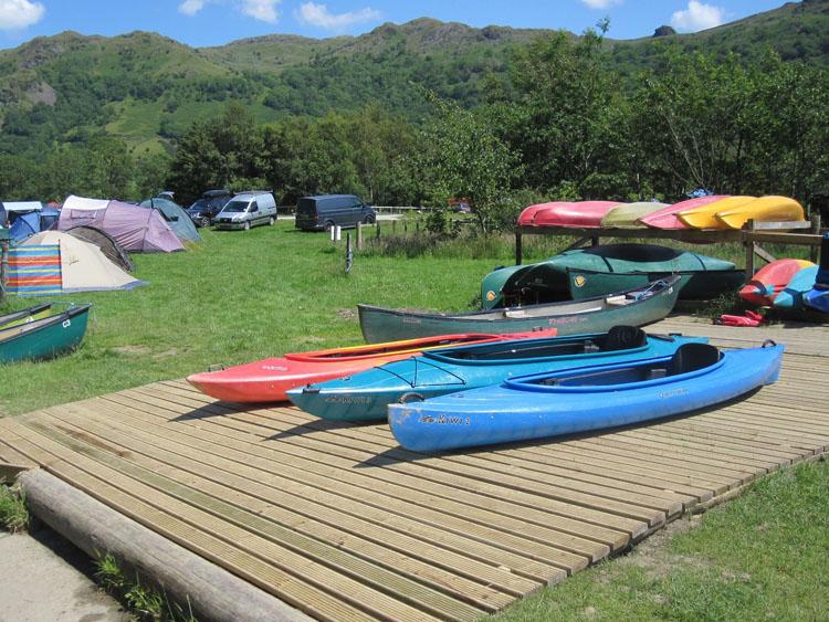 Boat hire - Llyn Gwynant Campsite