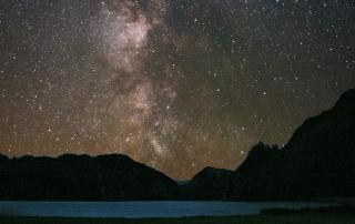 stargazing at Llyn Gwynant