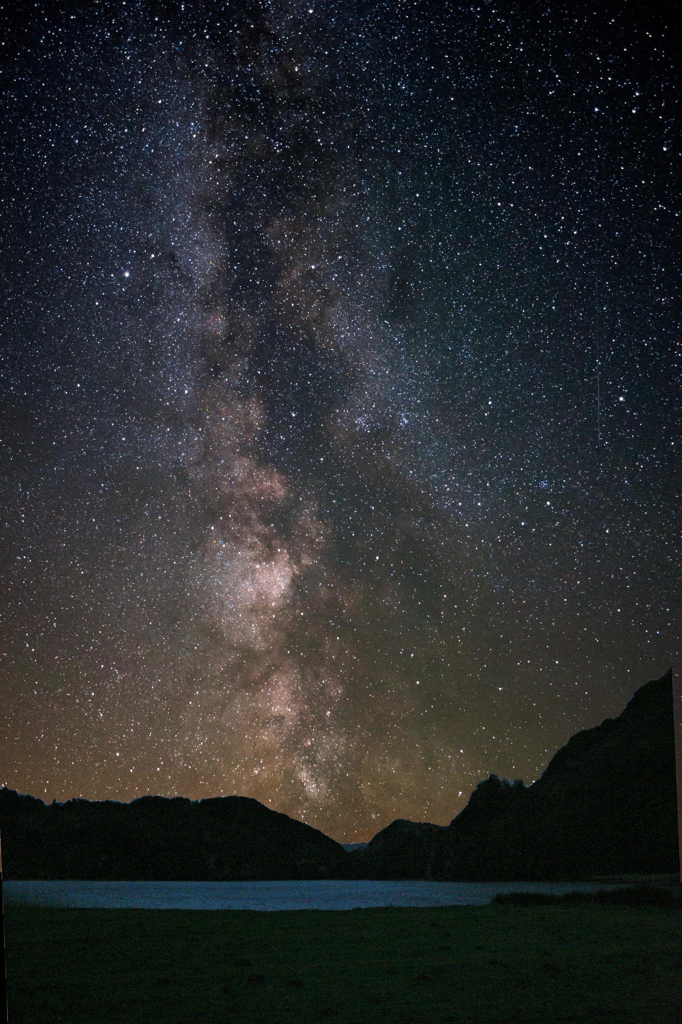 starry sky- llyn gwynant campsite